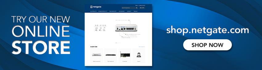 New Netgate Store